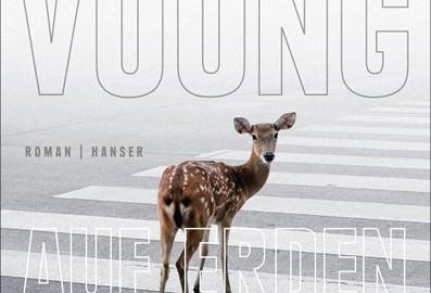 """Aufwühlend-treibender Rhythmus: Ocean Vuongs Debütroman """"Auf Erden sind wir kurz grandios"""" / Abbildung: Hanser Verlag"""